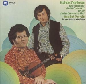 CD PERLMAN/PREVIN/LONDON SYMPHONY ORCHESTRA - MENDELSSOHN, BRUCH: VIOLIN CONCERTOS