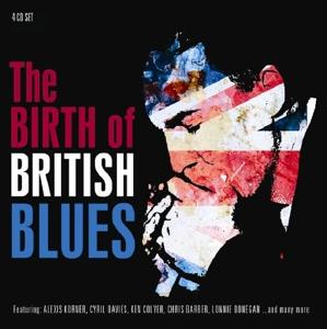 CD V/A - BIRTH OF BRITISH BLUES