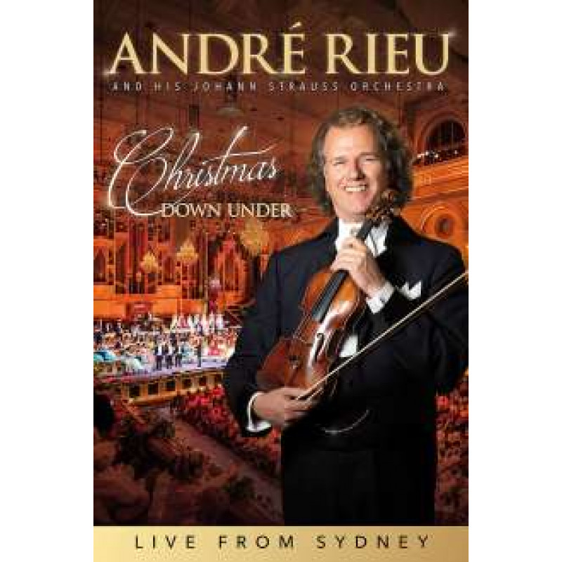 DVD RIEU ANDRE - CHRISTMAS DOWN UNDER - LIVE FROM SYDNEY