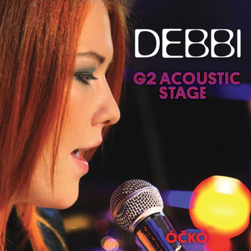CD DEBBI - G2 ACOUSTIC STAGE/DVD