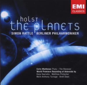 CD HOLST, G. - PLANETS/ASTEROIDS