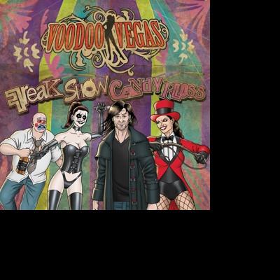 CD VOODOO VEGAS - FREAK SHOW CANDY FLOSS