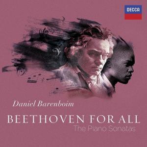 CD BARENBOIM DANIEL - BEETHOVEN FOR ALL-SONATY