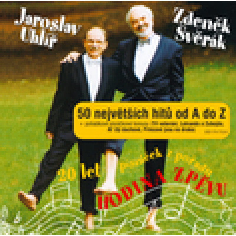 CD SVERAK & UHLIR - 50 Největších hitů od A do Z + pohádkové bonusy