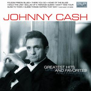 Vinyl CASH, JOHNNY - GREATEST HITS AND FAVORITES