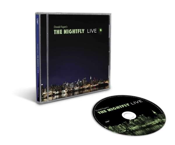 CD FAGEN, DONALD - NIGHTFLY: LIVE