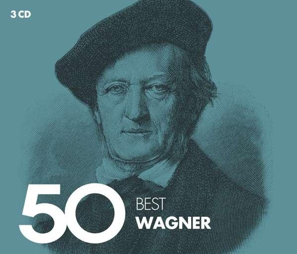 CD VARIOUS ARTISTS - 50 BEST WAGNER