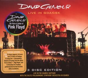 David Gilmour - CD LIVE IN GDANSK (2CD+DVD)