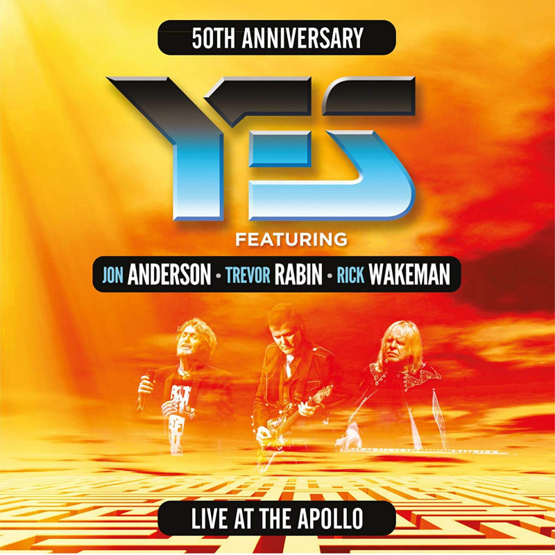 Yes - Blu-ray LIVE AT THE APOLLO