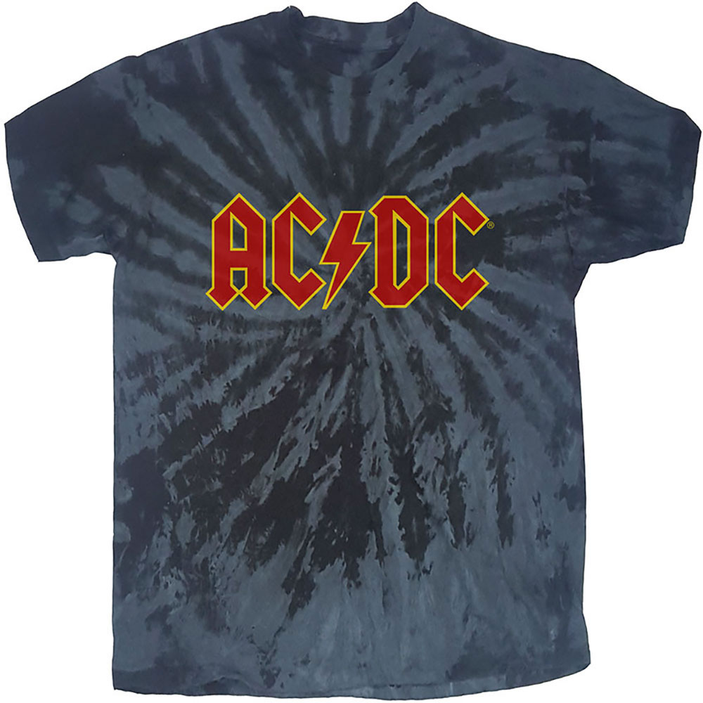 AC/DC - Tričko Logo - Muž, Unisex, Čierna, XL