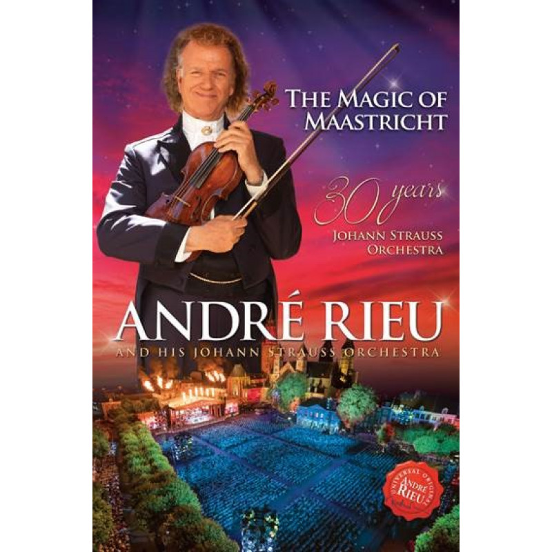 DVD RIEU ANDRE - THE MAGIC OF MAASTRICHT