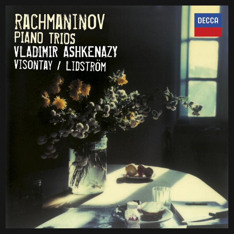 CD ASHKENAZY VLADIMIR - Rachmaninov: Klavírní tria