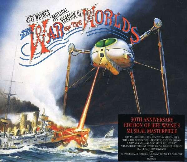 CD WAYNE, JEFF - The War Of The Worlds