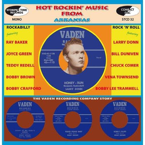 CD V/A - HOT ROCKIN' MUSIC FROM ARKANSAS