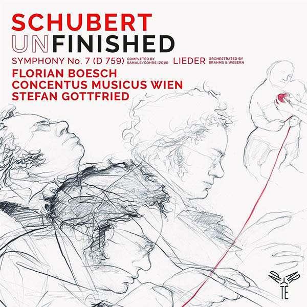 CD CONCENTUS MUSICUS WIEN - SCHUBERT UNFINISHED SYMPHONY NO.7