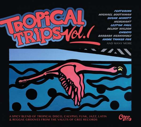 CD V/A - TROPICAL TRIPS 1