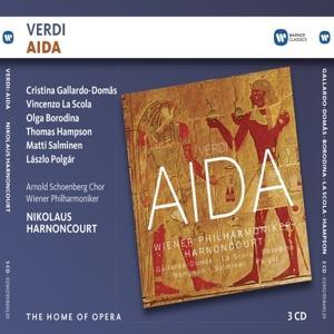 CD HARNONCOURT/WIENER PHILHARMONIKER/GALLARDO-DOMAS/LA SCOLA - VERDI: AIDA