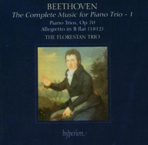 CD BEETHOVEN, L. VAN - COMPL.MUSIC FOR PIANO TRI