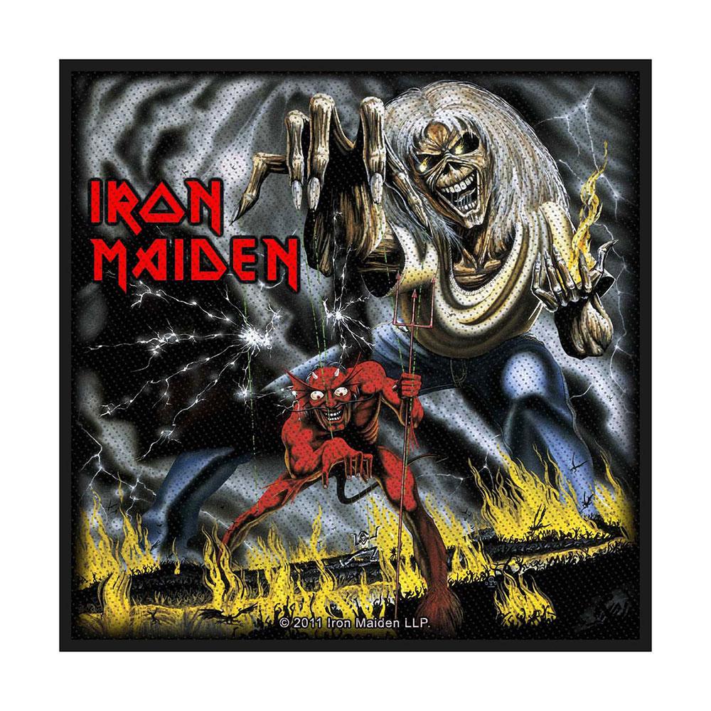 Iron Maiden - Nažehlovačka Number of the Beast