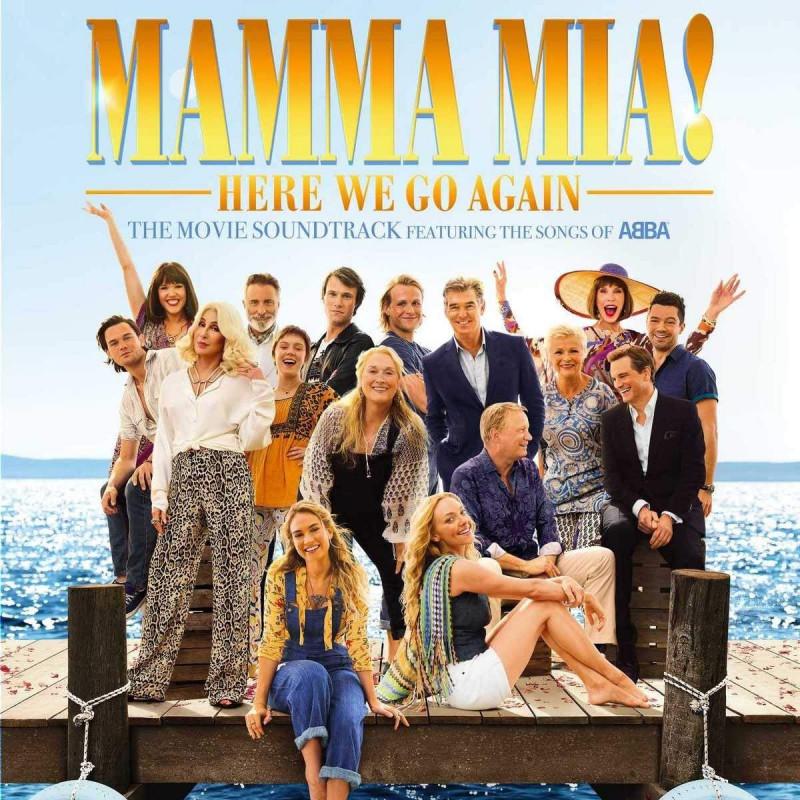 Soundtrack - CD MAMMA MIA| HERE WE GO...