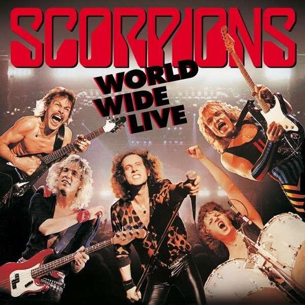 Scorpions - Vinyl WORLD WIDE LIVE (2LP+CD)