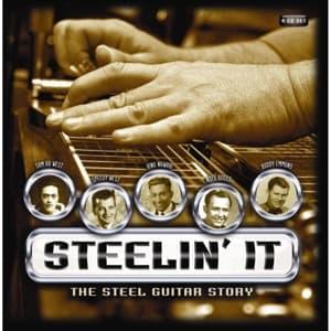 CD V/A - STEELIN' IT:THE STEEL GUITAR STORY