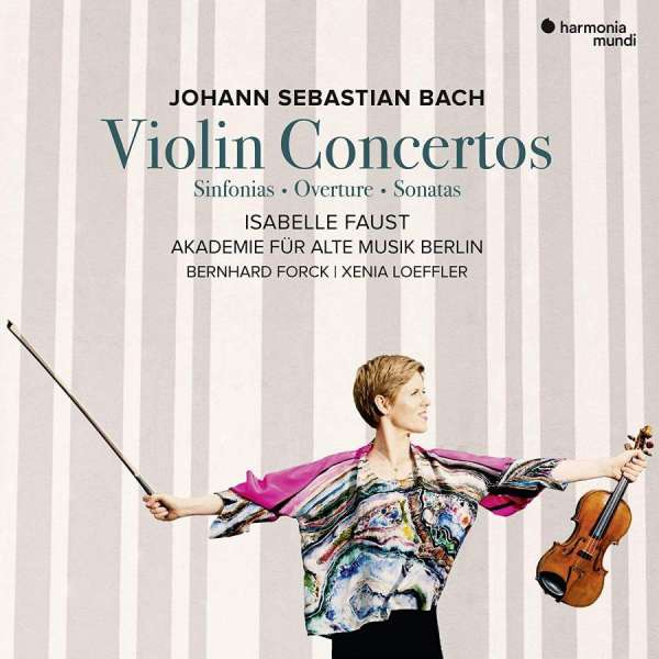 CD BACH, J.S. - VIOLIN CONCERTOS