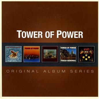 CD TOWER OF POWER - ORIGINAL ALBUM SERIES