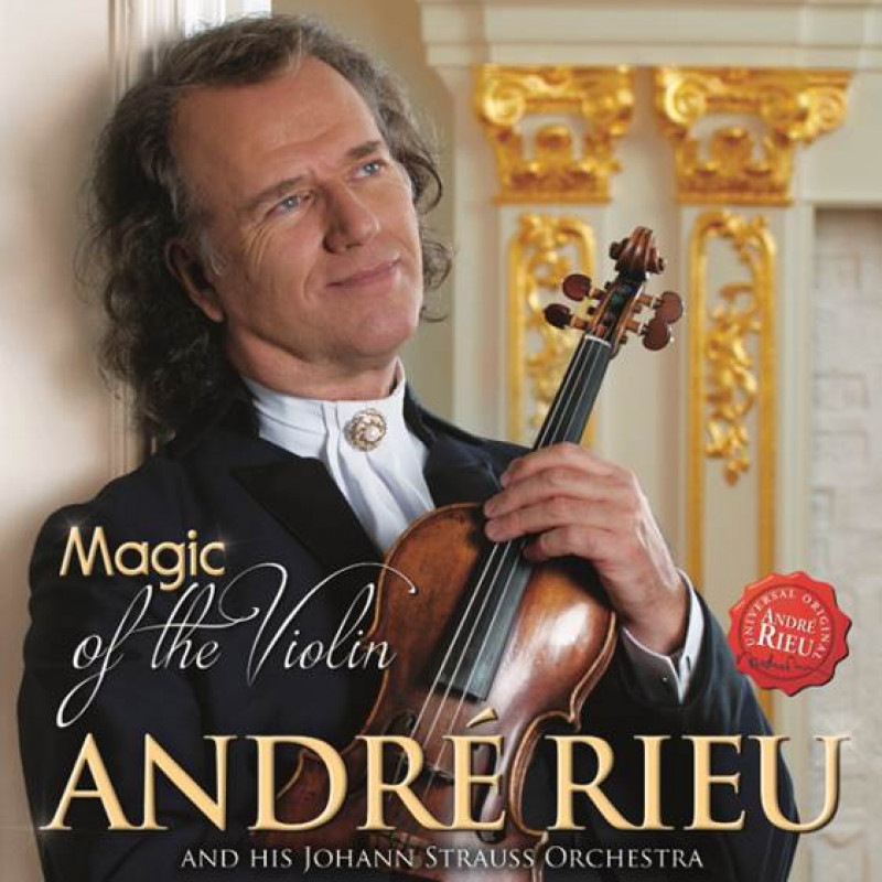 DVD RIEU ANDRE - MAGIC OF THE VIOLIN