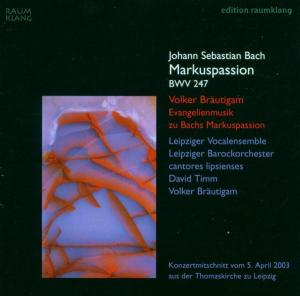 CD BACH, J.S. - MARKUSPASSION BWV247