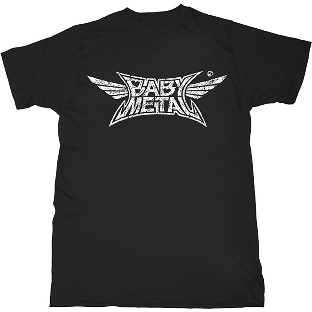 BABYMETAL - Tričko Logo - Muž, Unisex, Čierna, L