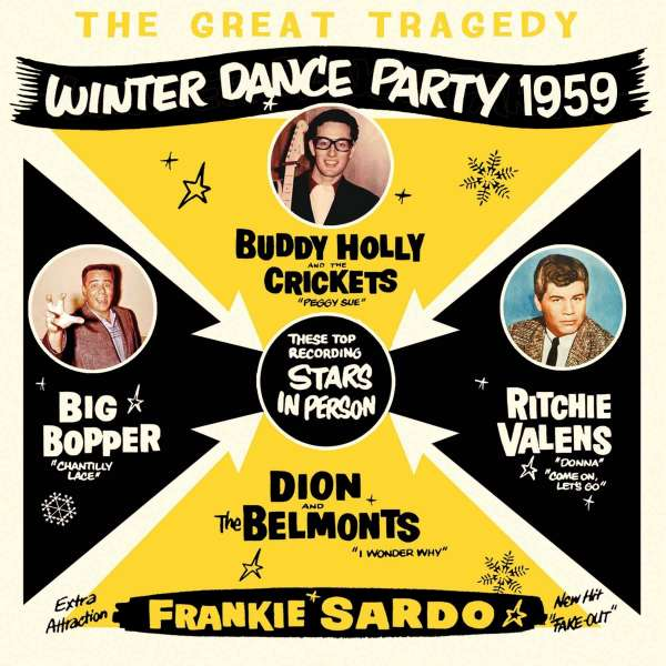 CD V/A - GREAT TRAGEDY:WINTER DANCE PARTY 1959