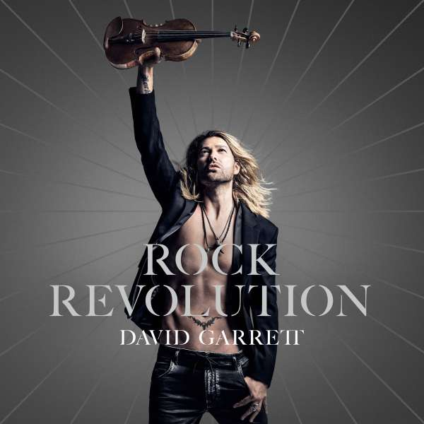 CD GARRETT DAVID - ROCK REVOLUTION