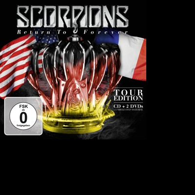 Scorpions - CD RETURN TO FOREVER (TOUR EDITION)