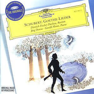 CD FISCHER-D./DEMUS - PISNE NA GOETHEHO TEXTY
