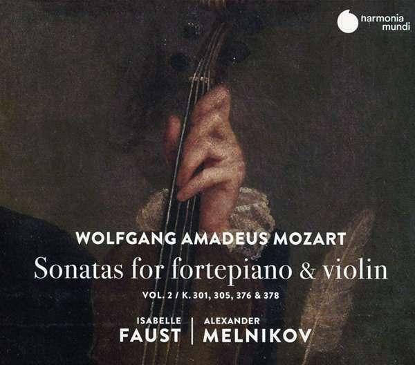 CD MOZART, W.A. - SONATAS FOR FORTEPIANO & VIOLIN