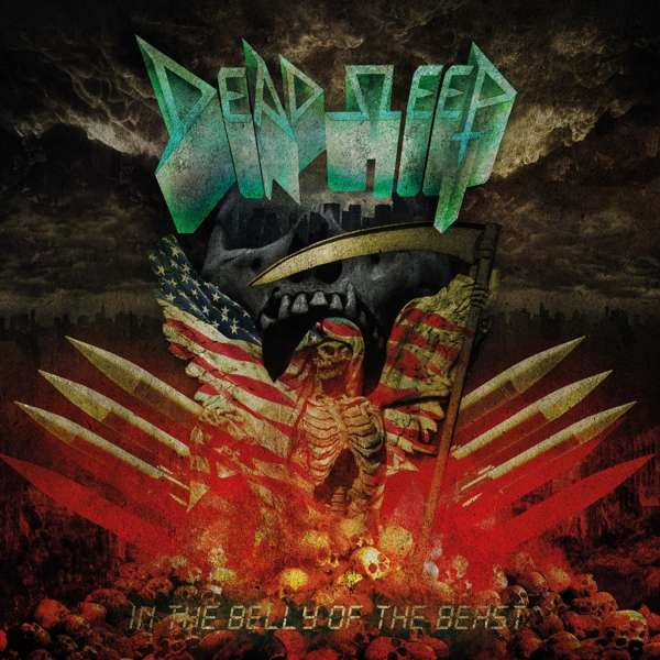 CD DEAD SLEEP - IN THE BELLY OF THE BEAST
