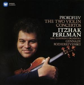 CD PERLMAN/ROZHDESTVENSKY/BBC SYMPHONY ORCH - PROKOFIEV: VIOLIN CONCERTOS NO. 1 & 2