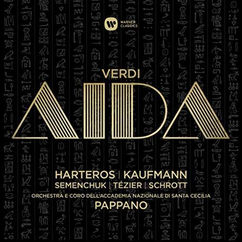 CD HARTEROS, ANJA/JONAS KAUFMANN/ORCHESTRA DELL'ACCADEMIA NAZIONALE DI SANTA CECILIA/ANTONIO PAPPANO - VERDI: AIDA