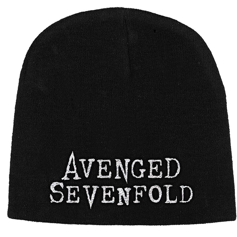 Avenged Sevenfold A7X - Čapica Logo - Muž, Unisex, Čierna, Univerzálna