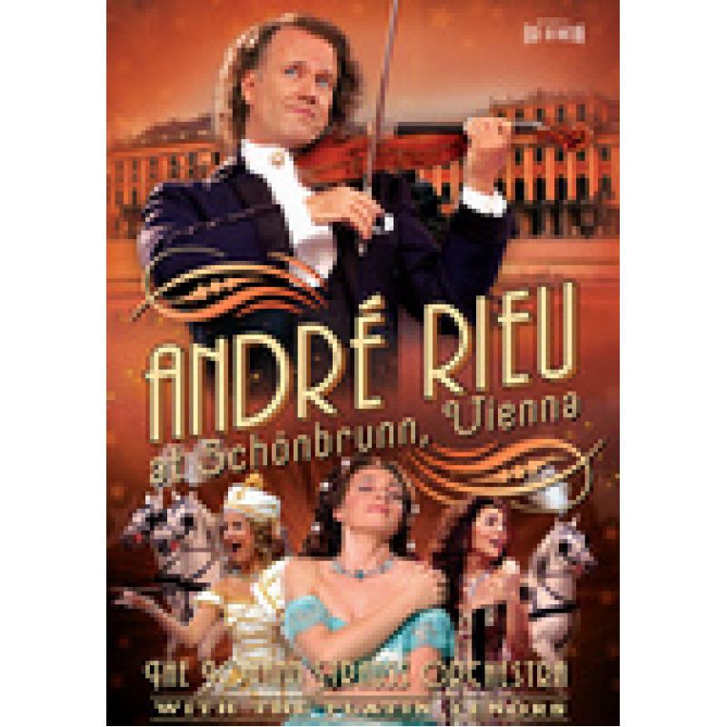 DVD RIEU ANDRE - ANDRE RIEU AT SCHONBRUNN..