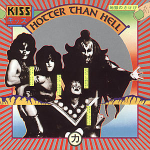 Kiss - CD HOTTER THAN HELL