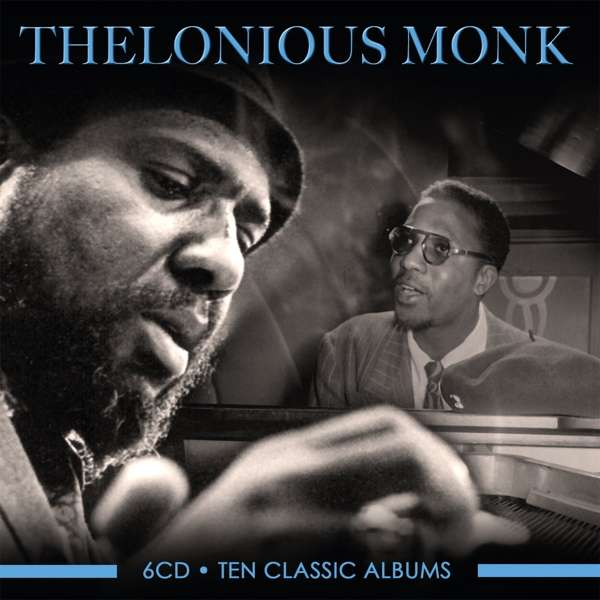 CD MONK, THELONIOUS - TEN CLASSIC ALBUMS