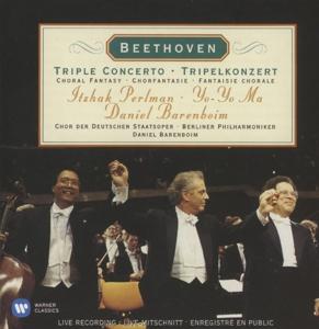 CD PERLMAN/YO-YO MA/BARENBOIM/BERLINER PHIL - BEETHOVEN: TRIPLE CONCERTO