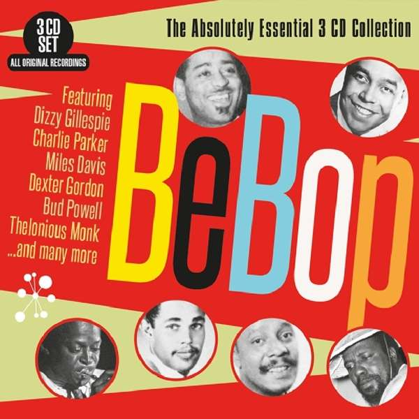 CD V/A - BEBOP - THE ABSOLUTELY ESSENTIAL