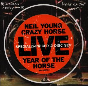 CD YOUNG, NEIL - YEAR OF THE HORSE (LIVE)