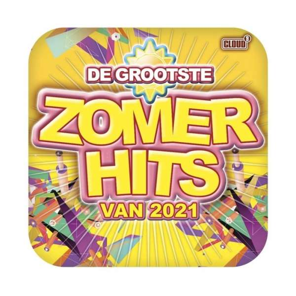 CD V/A - GROOTSTE ZOMERHITS VAN 2021
