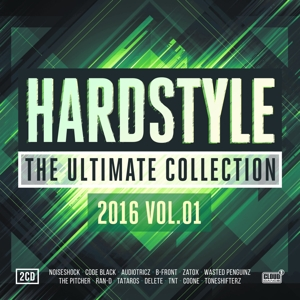 CD V/A - HARDSTYLE THE ULTIMATE COLLECTION 2016 -1-