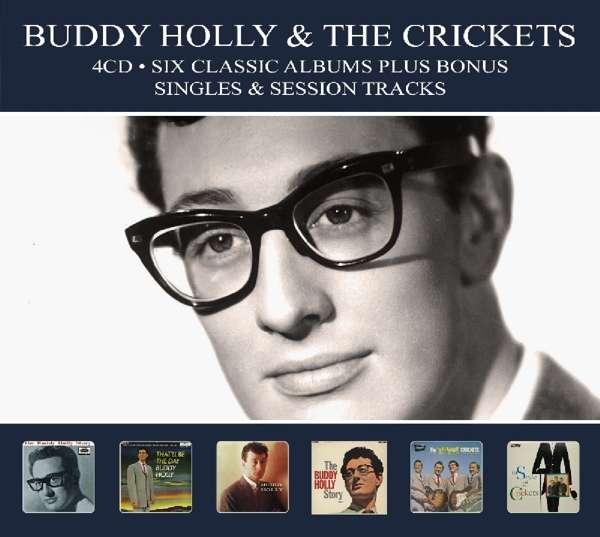 CD HOLLY, BUDDY & THE CRICKE - SIX CLASSIC ALBUMS