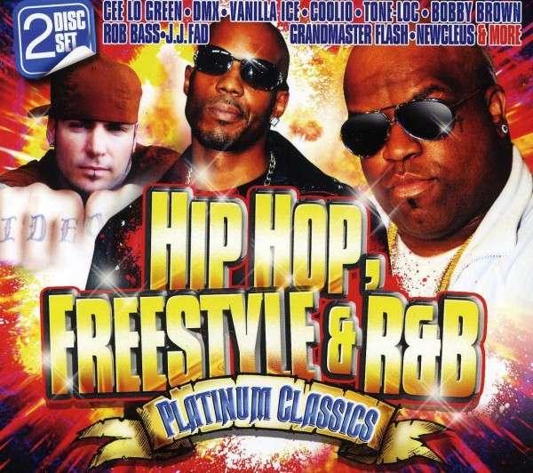 CD V/A - HIP HOP FREESTYLE & R&B PLATINUM CLASSICS